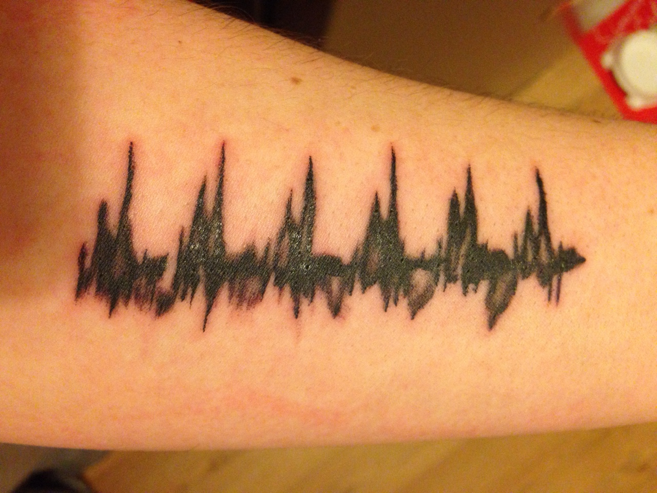 waveform heartbeat tattoo meet your miracle of boardman oh