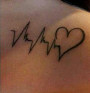 Using the heartbeat outline