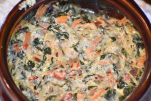 kid-friendly warm spinach dip recipe
